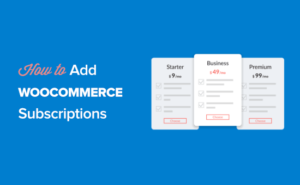 How to add subscriptions to WooCommerce (free alternative)